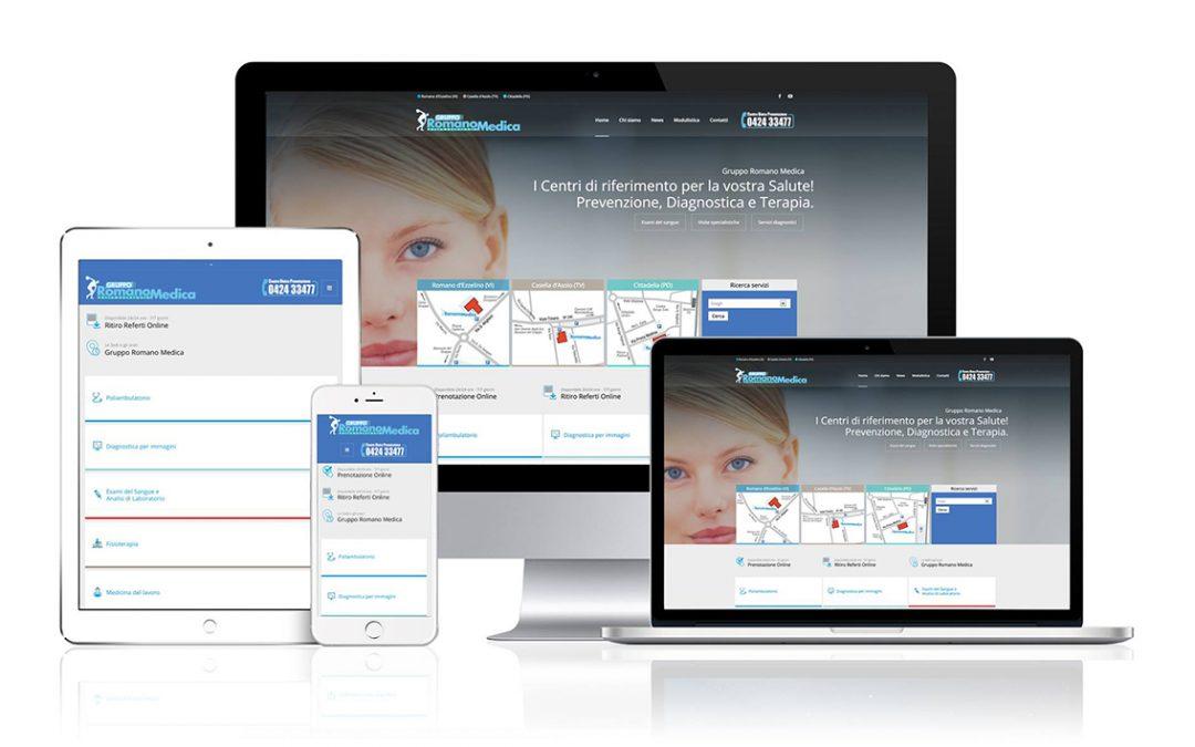 È online il nuovo sito internet del Gruppo Romano Medica!