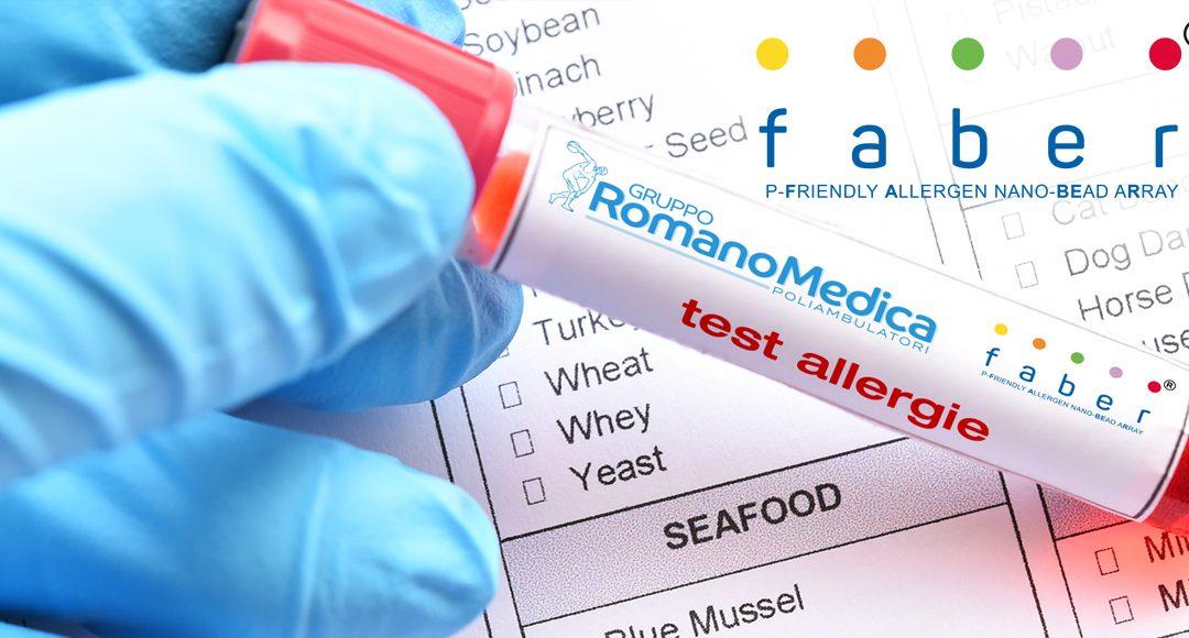 FABER TEST: il più attuale e completo strumento diagnostico oggi disponibile per la diagnosi di allergia