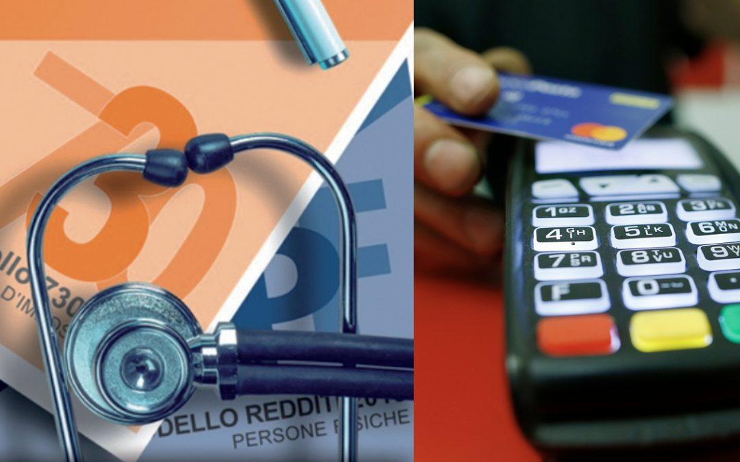 Spese sanitarie: nel 2020 detraibili solo se si paga con Bancomat o Carta di credito
